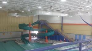 PG Sports and Learning Water Slide