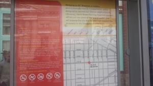 H Street Car Map