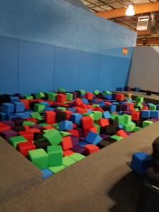 foam pit Flight Trampoline