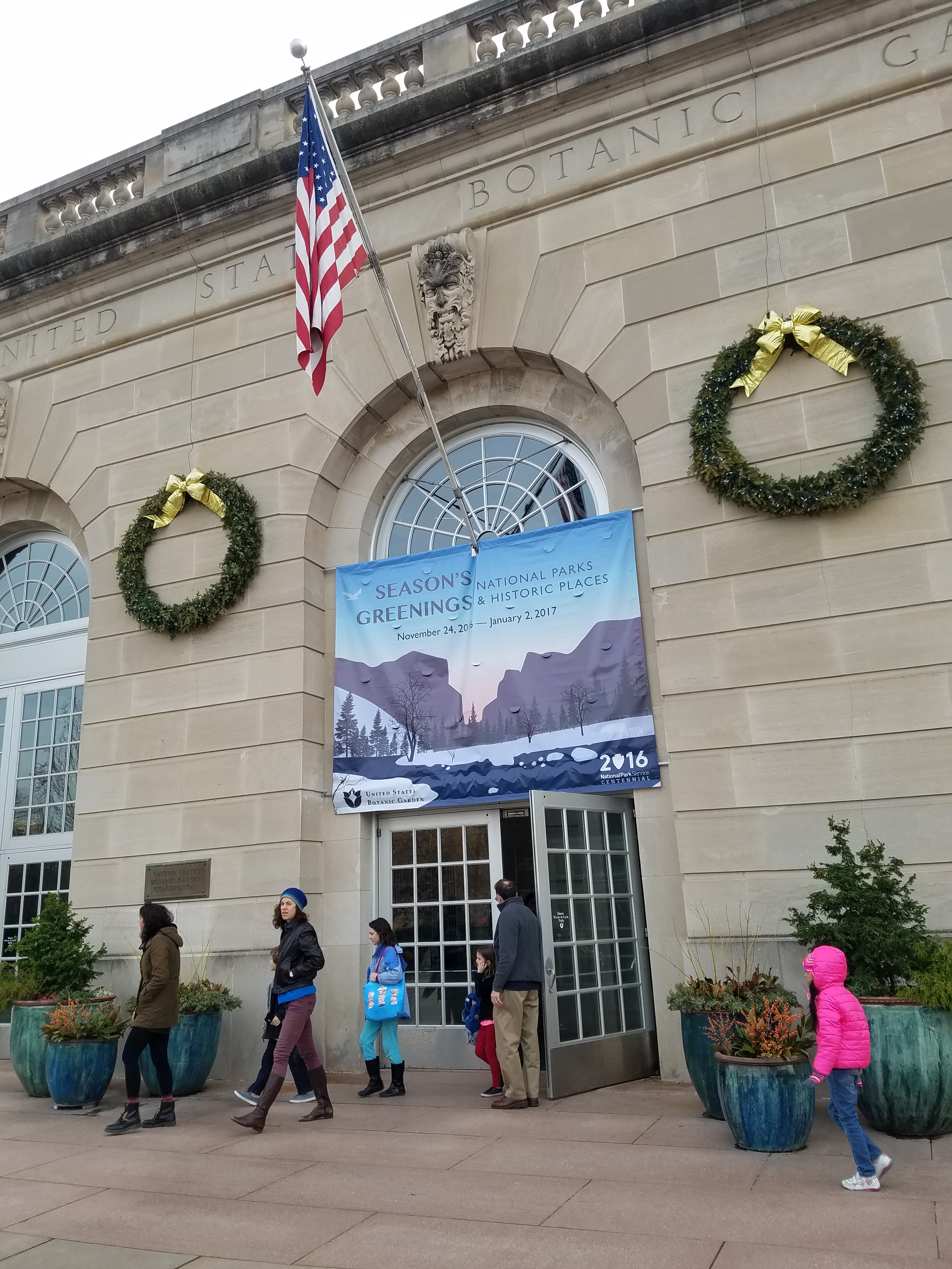 2016 Us Botanic Garden Holiday Exhibit National Parks And Historic Places The Adventures Of C